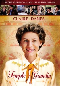 "Portada del DVD de la película ""Temple Grandin"""