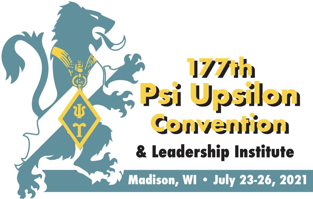 7.23.2021-7.26.2021 – 177th Psi Upsilon Convention