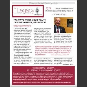 Legacy – October 2020