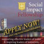 2021-2022 Social Impact Fellowship Applications Close Sept.15