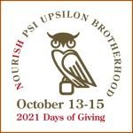 10.13-15.2021 – Psi Upsilon Days of Giving