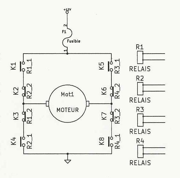 Schema Relais Electrique 12v
