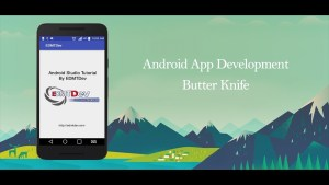 Using ButterKnife in PSLab Android App