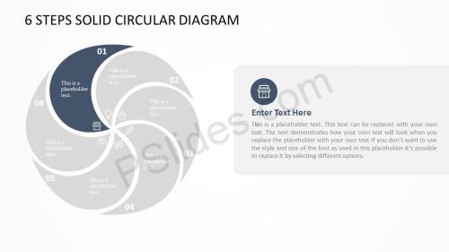 small resolution of download the free 6 steps solid circular diagram this diagram ppt template can be updated easily allowing the user to fully customize its appearance size