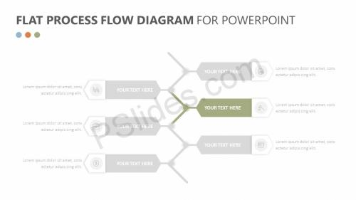 small resolution of  flat process flow diagram slide 2