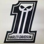 Harley Davidson 1 Skull Patch Large For Sale Psmf Diet Lab