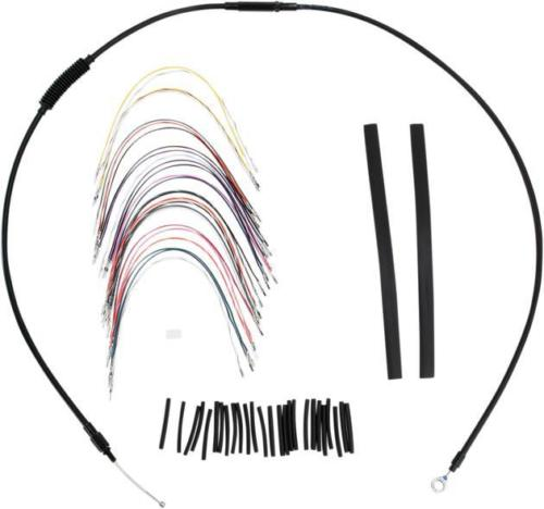 Burly Cable/Brake Line Kit for 13