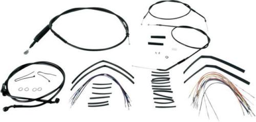 Burly Cable/Brake Line Kit for 14