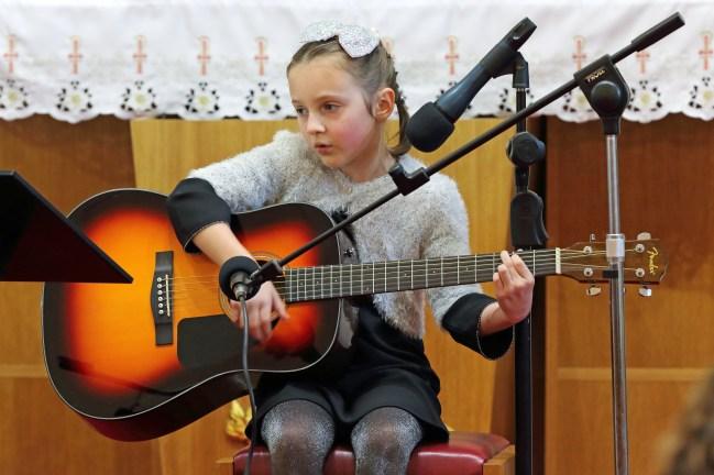 Amelie James - sekcja gitary fot. Paweł Mieszczakowski