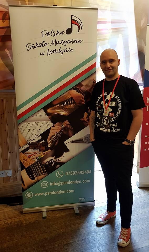 Piotr Miszatal - dyrektor Polskiej Szkoły Muzycznej w Londynie