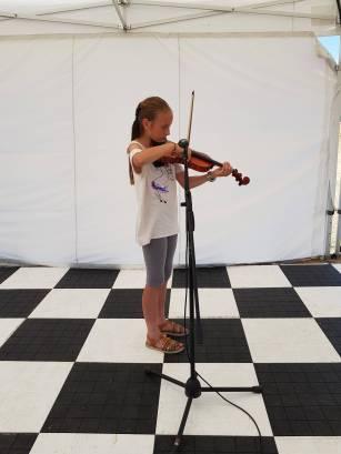 Lidia - sekcja skrzypiec