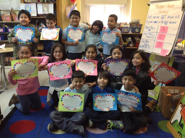 Dual language Ms. Guzman's 303 LOVES PS 165