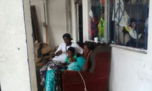 Haitianas embarazadas