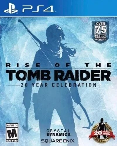 Rise of the Tomb Raider 20 Year Celebration PS4