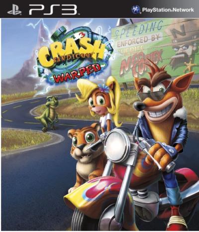 Crash Bandicoot 3 Warped PS3