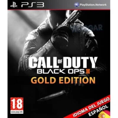 Call of duty black ops 2 gold (español) PS3