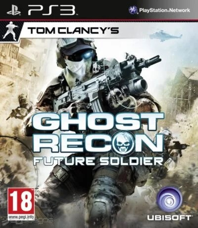 Tom Clancys Ghost Recon Future Soldier PS3