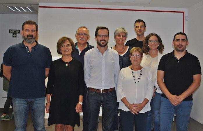 Nova Executiva del PSOE Maó encapçalada per Hector Pons Riudavets
