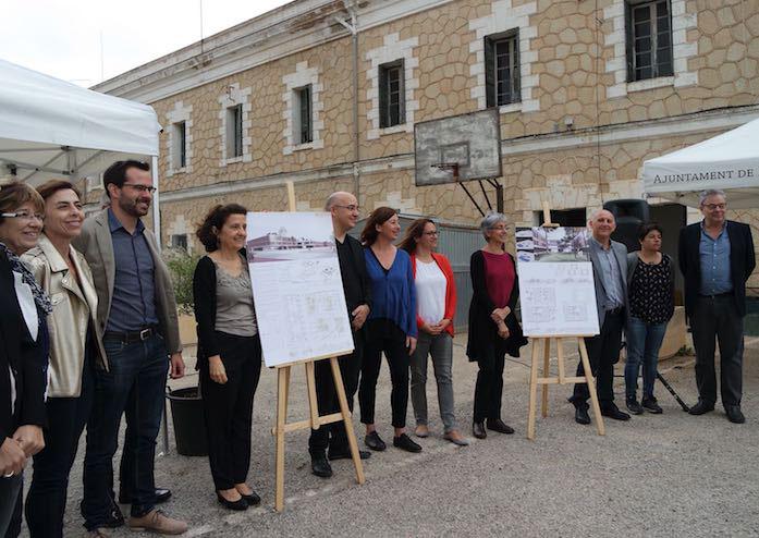 Presentació Projecte guanyador del concurs arquitectònic de la futura residència de Maó PSOE Maó