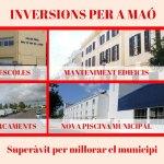 Noves inversions Superàvit Pressupost 2017 PSOE Maó