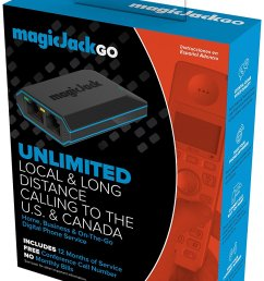 details about magicjack go digital phone service includes 12 months of free service new [ 1028 x 1500 Pixel ]