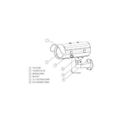 O/B HTC-LP112DID Long distance Color intelligent license