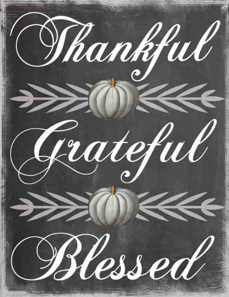 thanksgiving be thankful parole sparse