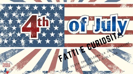 4 luglio parole sparse