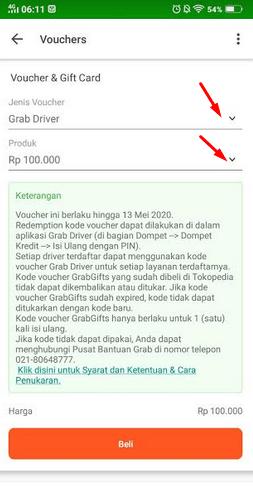 Cara Top Up Grab Driver Via Tokopedia : driver, tokopedia, Dompet, Kredit, Tokopedia, Terbaru