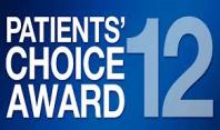 Patient's Choice Award 2012