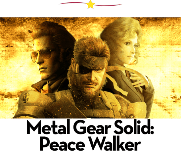Juegos para PSP: Metal Gear Solid Peace Walker