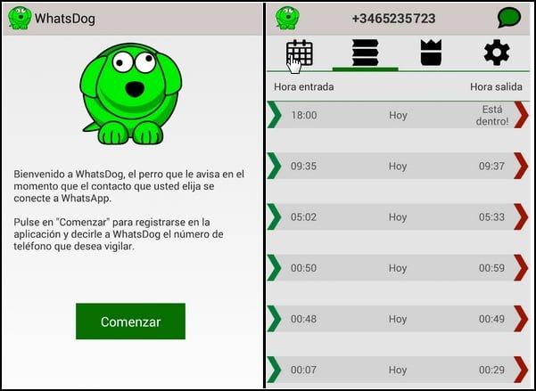 WhatsDog funcionando
