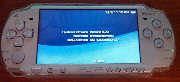 firmware 6.20 PSP