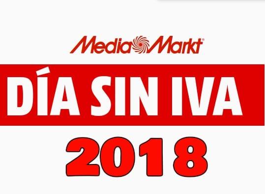 día sin iva Media Markt 2018