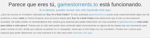GamesTorrents caído