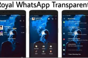 Royal WhatsApp Transparent