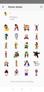 Stickers de Dragon Ball Z