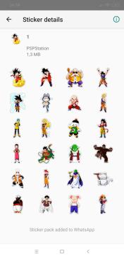 Stickers de Dragon Ball Z