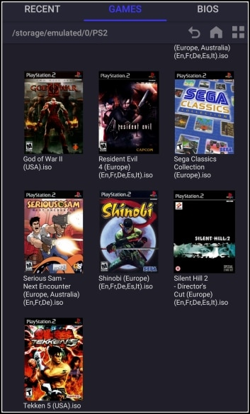 juegos para DamonPS2 Pro