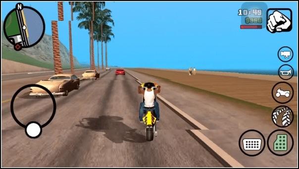 GTA San Andreas para móvil Android