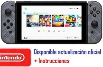 actualización Nintendo Switch