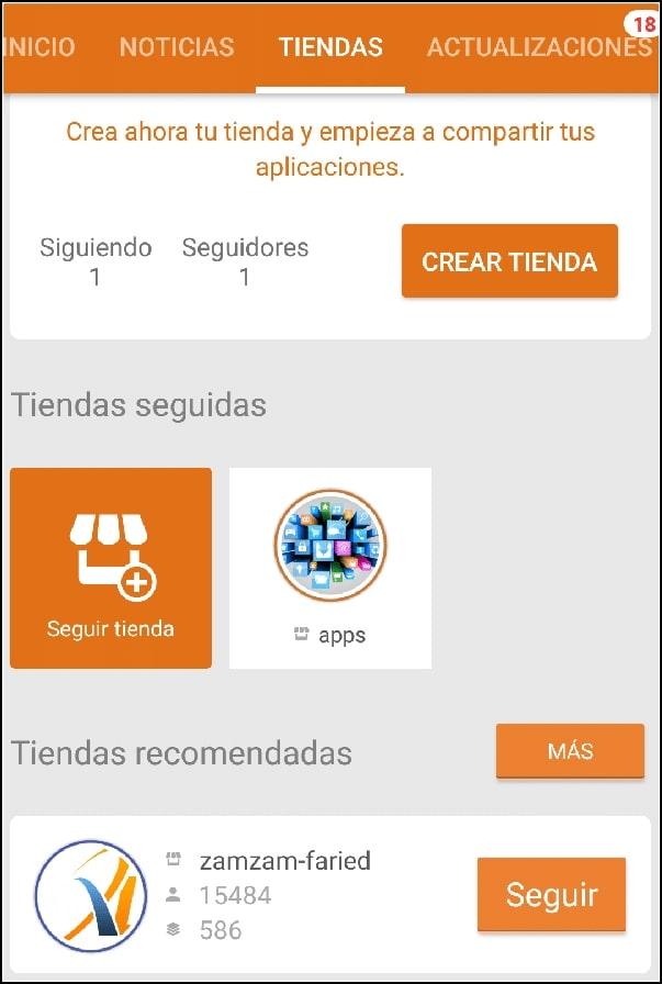 tiendas Aptoide