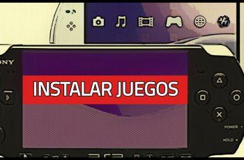 Cómo instalar juegos en PSP