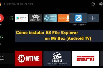 instalar es file explorer en mi box