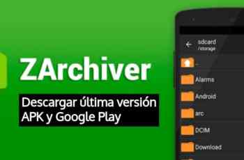 ZArchiver: APK para Android