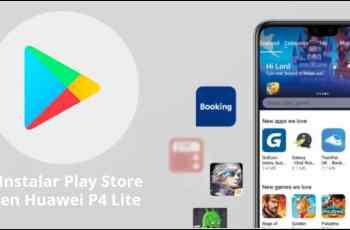 instalar Play Store en Huawei P40 Lite