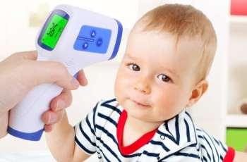 termómetro digital de frente