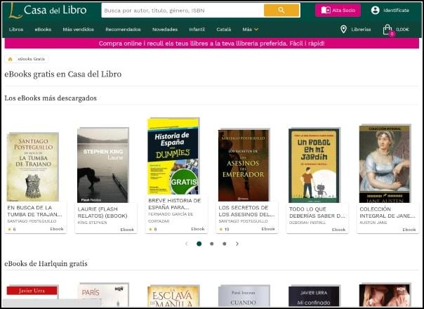 casadellibro libros gratis