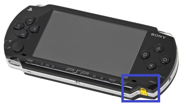 PSP AC input cargador