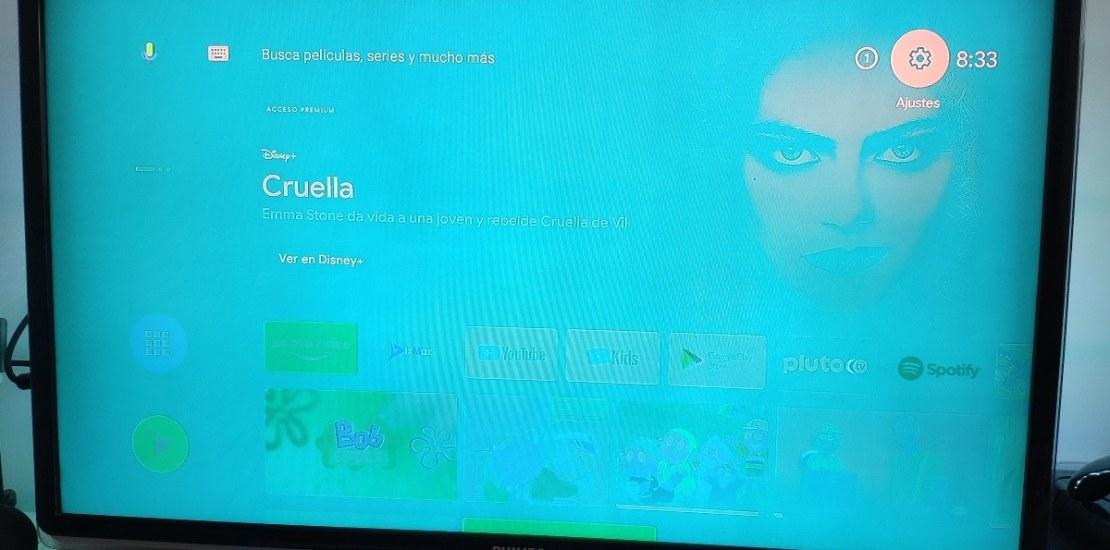 pantalla verde xiaomi mi box